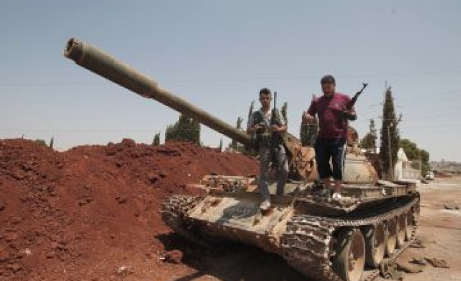 EU to discuss extending arms embargo on Syria