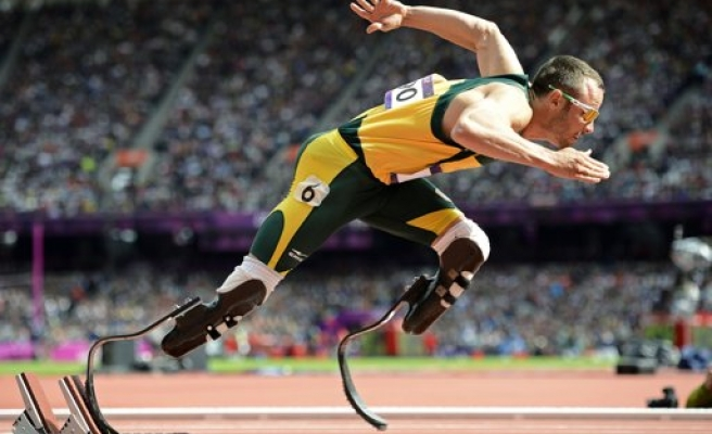 S.Africa's Paralympic star arrested after girlfriend shot dead