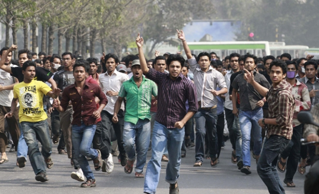 At least 20 dead in protests in Bangladesh