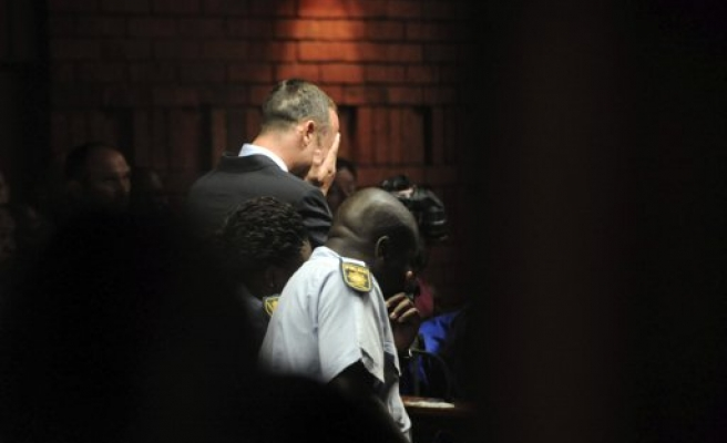 Paralympic star Pistorius charged with murder in court