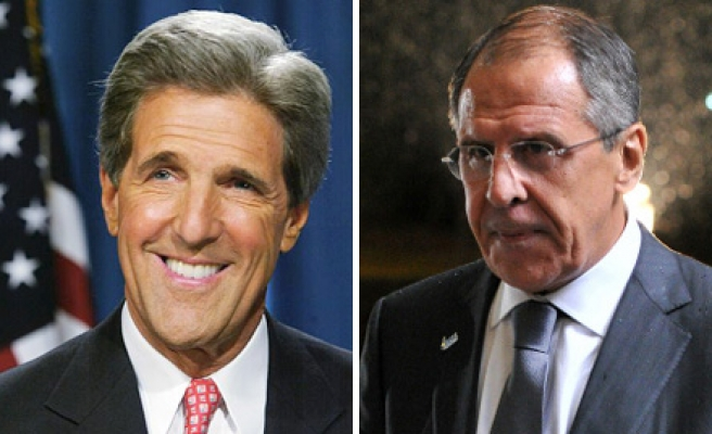 Lavrov, Kerry discuss dialogue in Syria