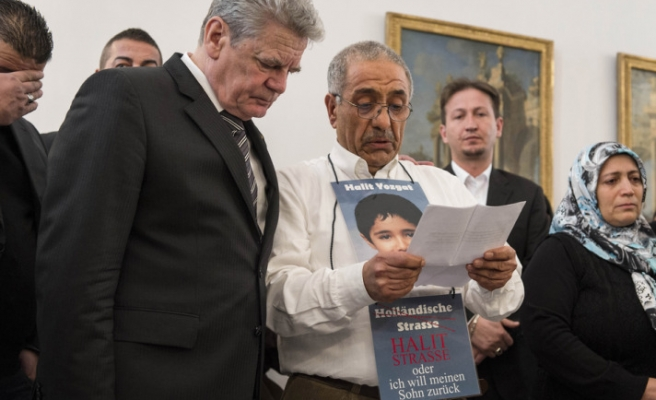 Turkish father of racist murder victim appeals to German president