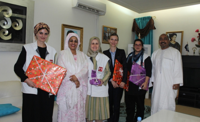 Niger's first lady receives TIKA, Doctors Worldwide delegation