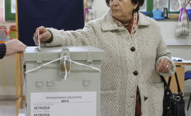 Greek Cypriots electing their leader in second round