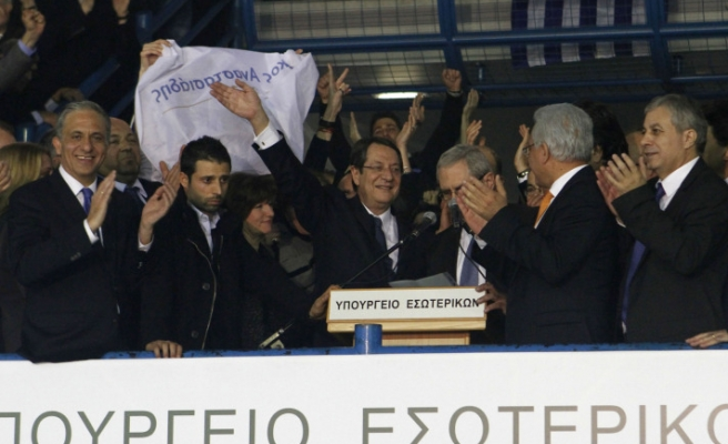 Anastasiadis becomes new leader of Greek Cypriots