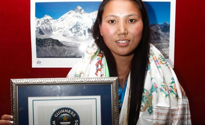 Nepali becomes first woman to climb Everest twice in a week