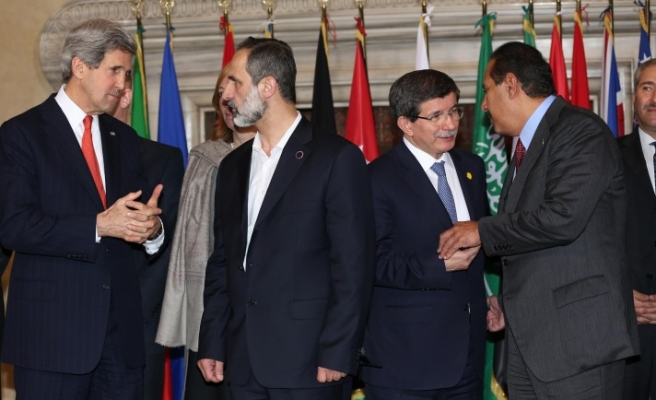 More support 'pledged' to Syrian opposition