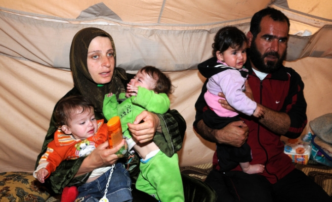 272 Syrian babies born at tent city in past 7 months