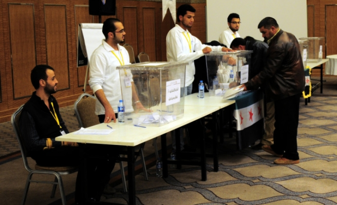 Syrians elect Aleppo council members in Turkish city