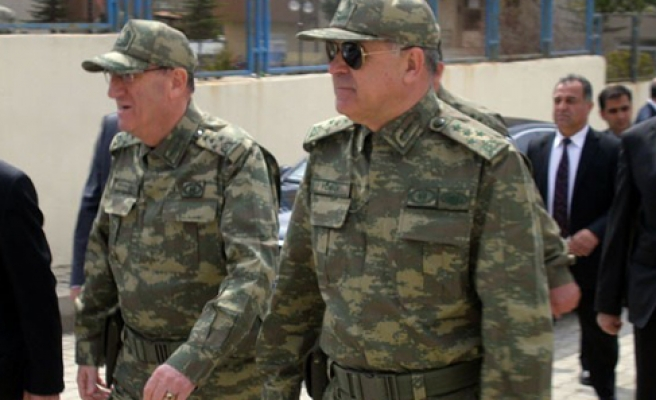 Turkish and Bosnian defense officials come together
