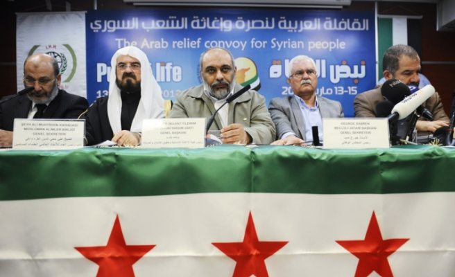 'Week of Solidarity with Syrian People' begins