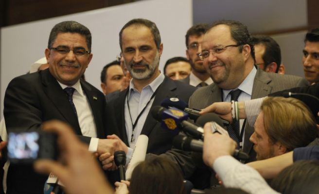 Syrian opposition elects Ghassan Hitto as interim PM