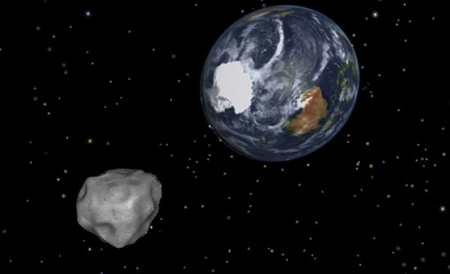 In the case of large asteroids, pray: NASA