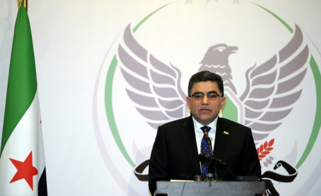 Syria's interim premier rejects talks with Syrian regime
