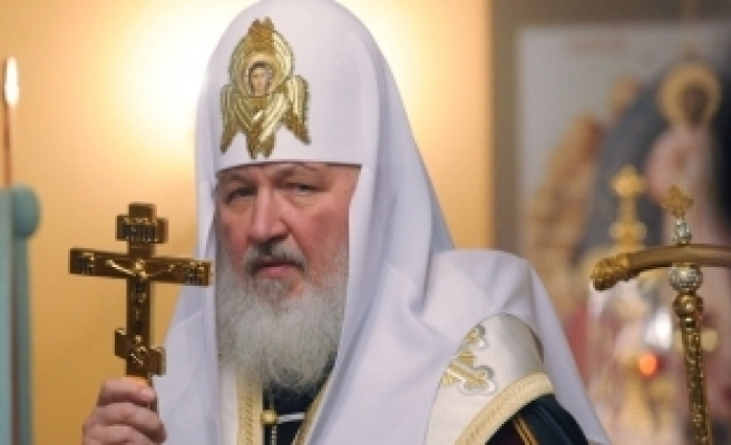 Factory gives fighter jet to head of Russian Orthodox Church