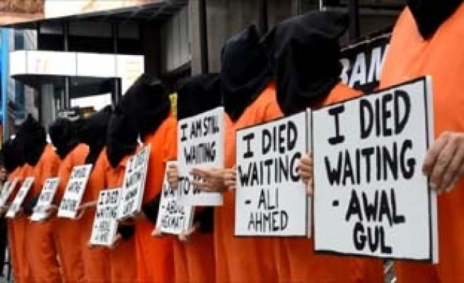 Guantanamo hunger strike enters 100th day