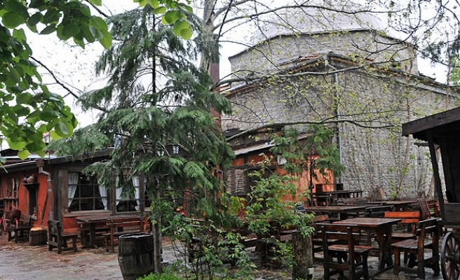 Ottoman mosque used as alcohol-serving restaurant