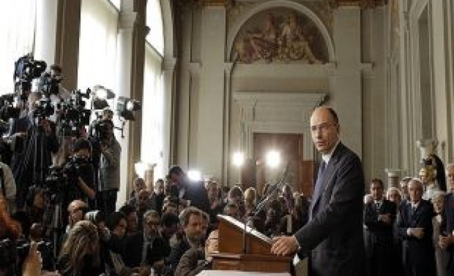 Italy president names Enrico Letta to form new government