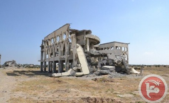 Destroyed Gaza airport a shattered dream
