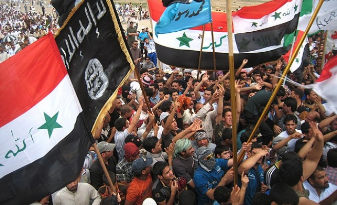 Iraqi demonstrators call for continuing resistance