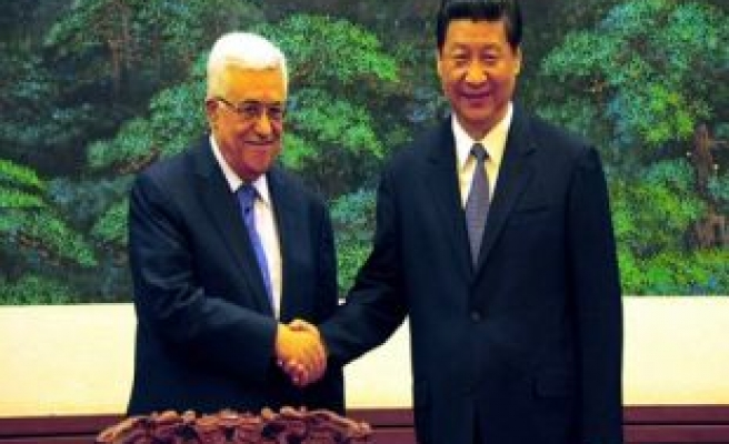 President: China firmly supports just cause of Palestinian people