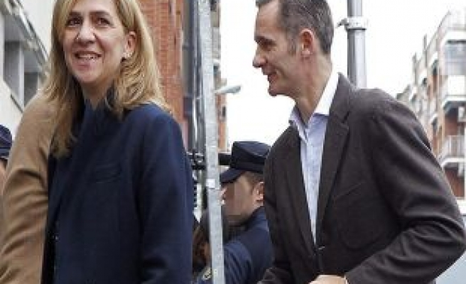 Charges against Spanish Princess suspended