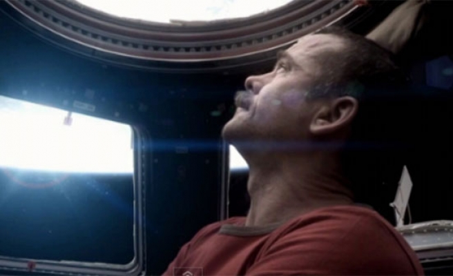 First rock video sung and shot in space