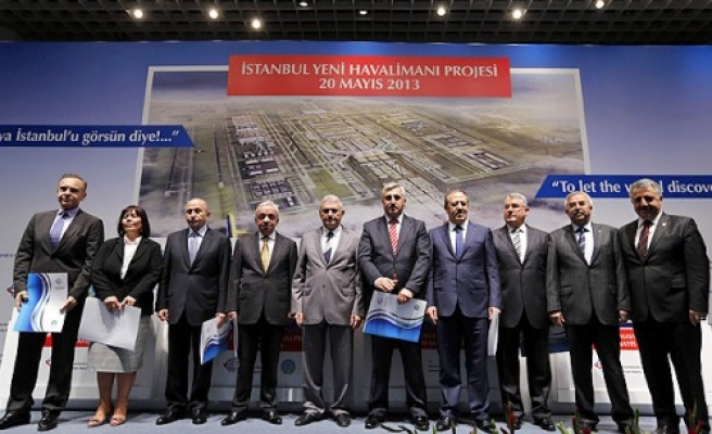 Istanbul's third airport contract initialled