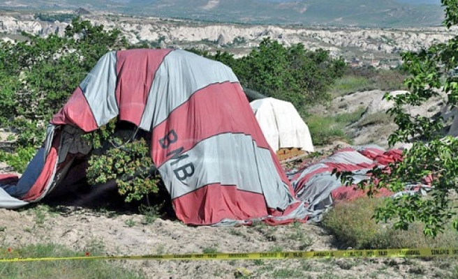 Hot air balloon crashes in Turkey, kills two- UPDATED