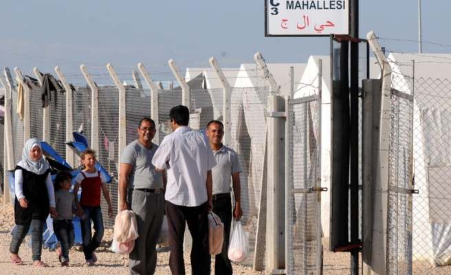 Syrian refugees in Turkish camps reach 200,000