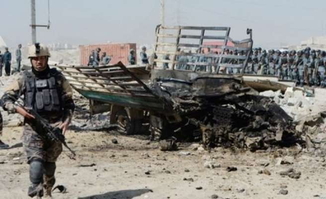 Afghan bomb attacks kill 6 soldiers