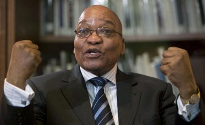 S. Africa parliament reelects Zuma as president