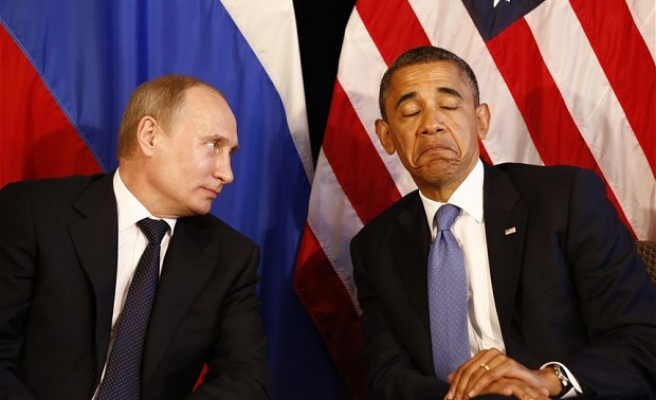 Putin 'like a bored kid,' Obama says while denying bad relations