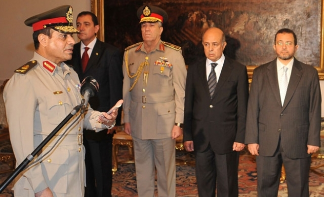 Sisi 'handpicked' interior minister: Morsi security officer