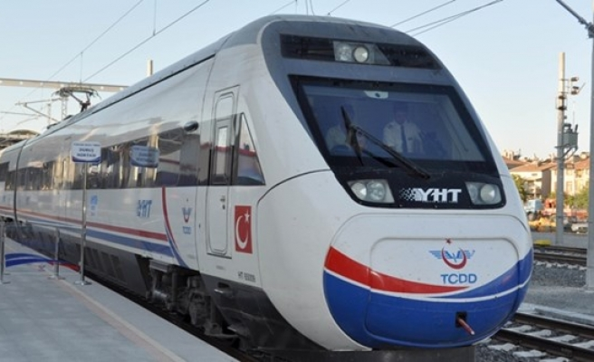 Turkey's high-speed train project to be complete in 2017