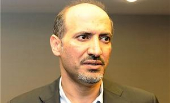 Syrian National Coalition interim president to meet Kerry