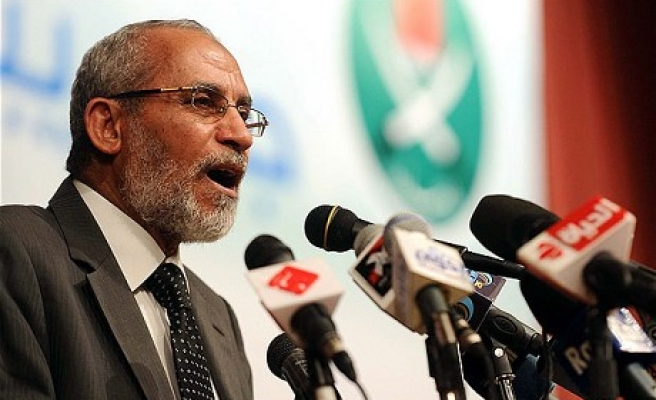 Egypt orders arrest of Brotherhood leader Badie