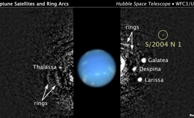NASA astronomer finds a new moon orbiting Neptune