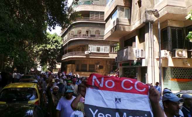Morsi supporters march embassies