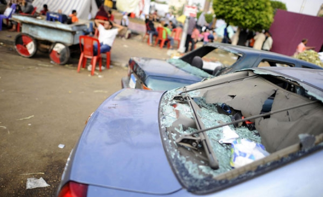 Six people killed in attacks on pro-Morsi protest