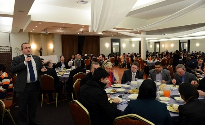 Australia liberal party hosts iftar dinner for Turkish community