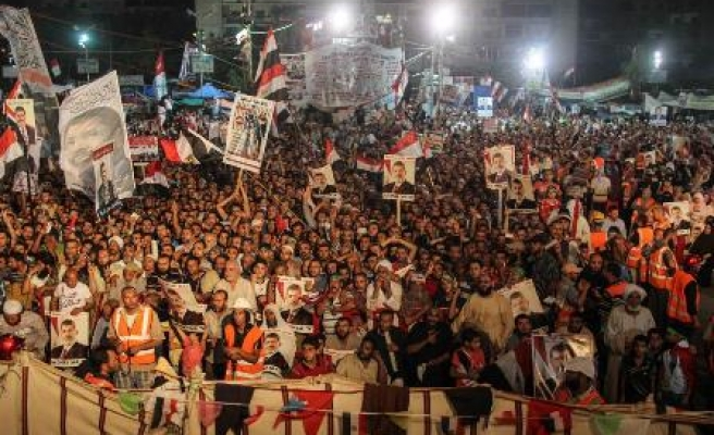 Morsi supporters stage anti-coup protests