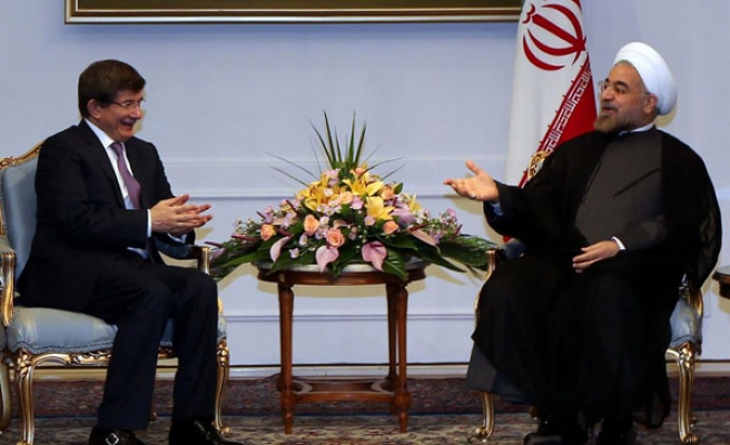 Turkish FM discusses Syria, Egypt with Rouhani