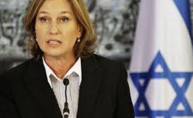 Talks allow cooperation with Arabs against Iran: Livni