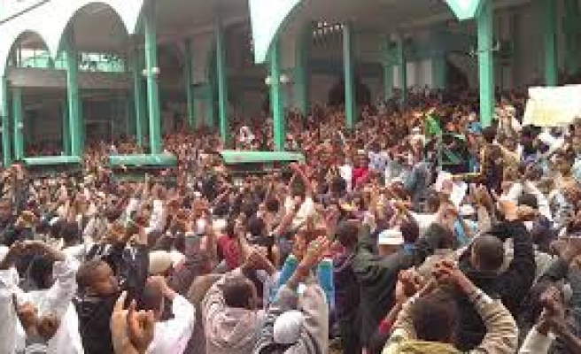 Ethiopian Muslims call for mass demonstrations