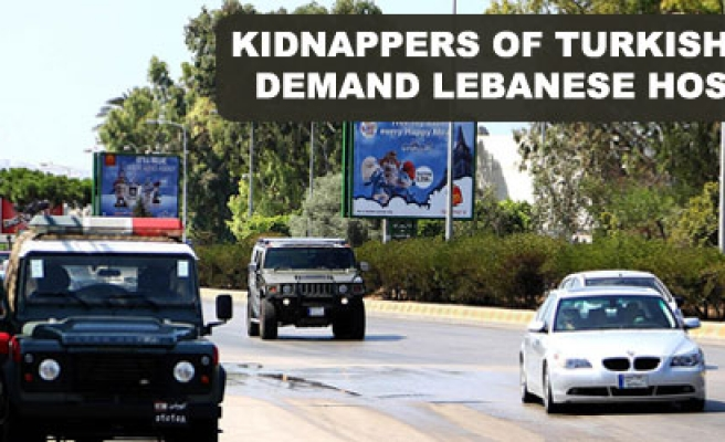 Kidnappers of Turkish pilots demand Lebanese hostages