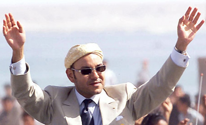 Moroccan King visits Western Sahara city