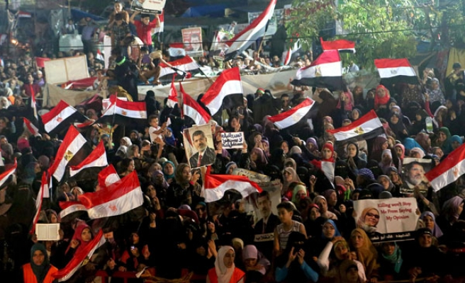 Egyptian forces may take action against supporters of Morsi