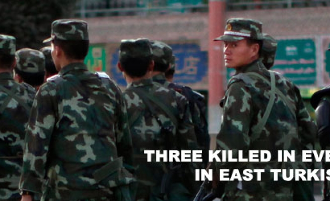 Three killed in eid eve clashes in East Turkistan