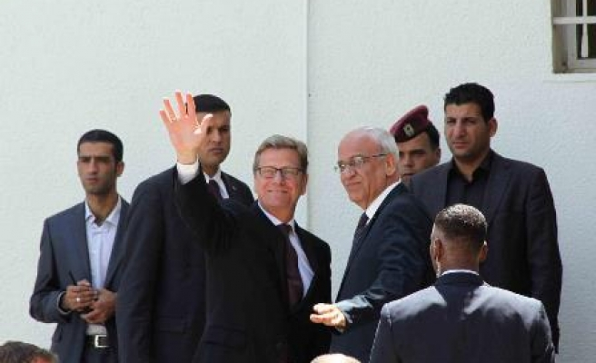 Germany's foreign minister visits Ramallah